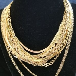 """""""Pot of Gold-Tone"""" Jewelry"""